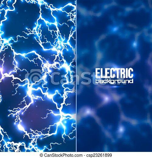 透明, 旗, 電気である, 背景, プラスチック - csp23261899