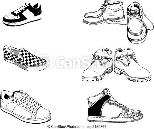 通り, 靴, 男性 , csp2150767