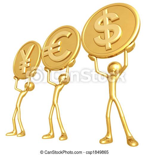通貨, はい - csp1849865