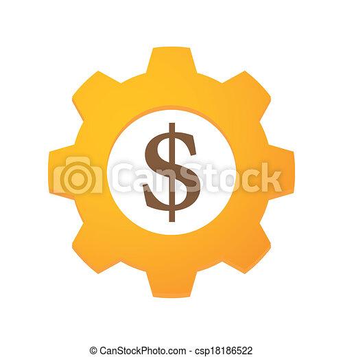 通貨, ギヤ - csp18186522