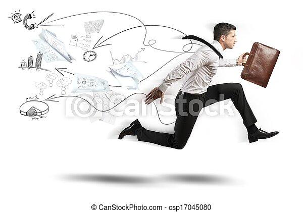 速い, ビジネス - csp17045080