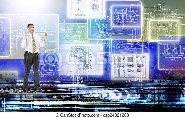 連接, 技術 - csp24321208