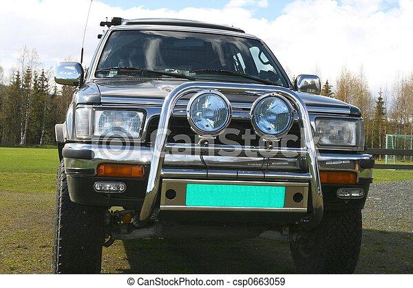 運動公用設施車輛 - csp0663059