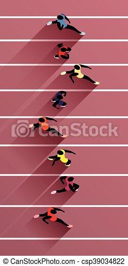 運動選手, オリンピック大会 - csp39034822