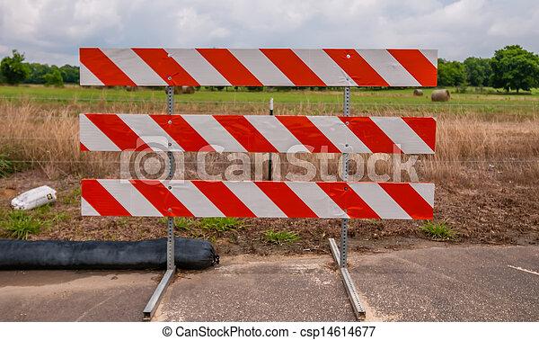 道の ブロック - csp14614677