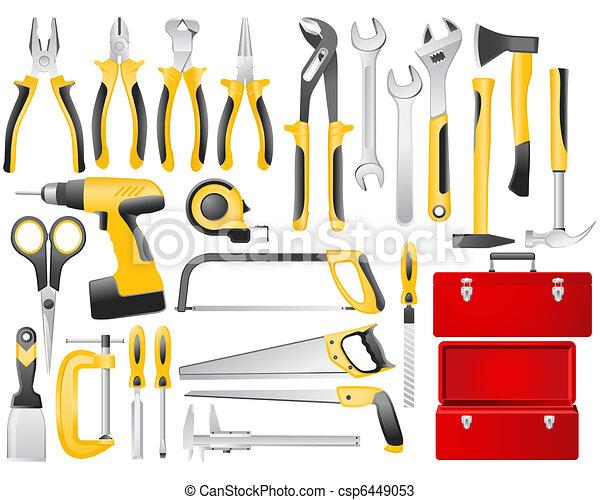 道具, 仕事, ハンドセット - csp6449053