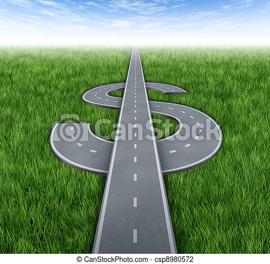 道路, 财富 - csp8980572