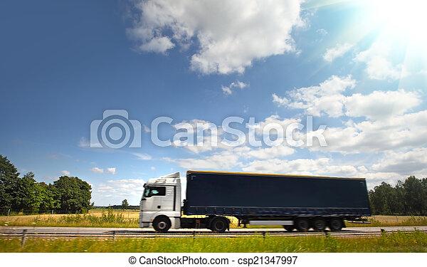 道, トラック - csp21347997