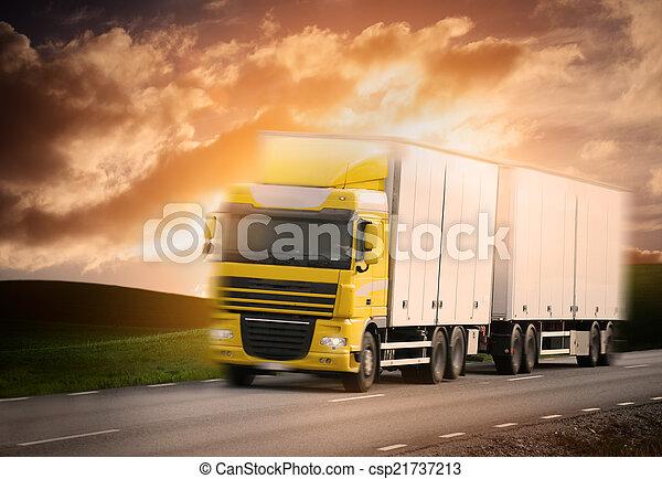 道, トラック - csp21737213