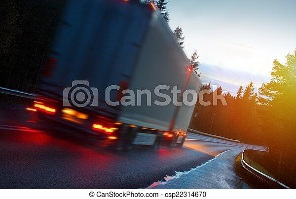 道, トラック - csp22314670