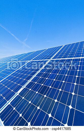選択肢, 太陽, energy., 力, plant. - csp4417685