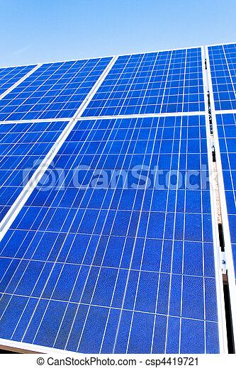 選択肢, 太陽, energy., 力, plant. - csp4419721