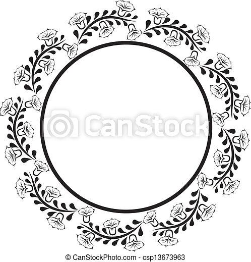 邊框, 輪 - csp13673963