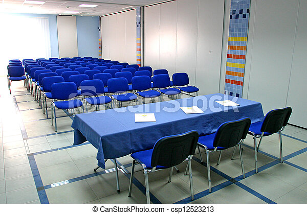 部屋, 会議 - csp12523213