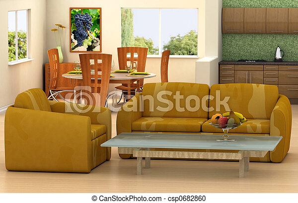 部屋, 暮らし - csp0682860