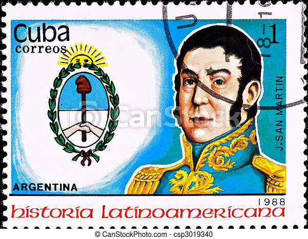 郵送料, san, 切手, 責任者, j., イワツバメ, アルゼンチン, ショー - csp3019340