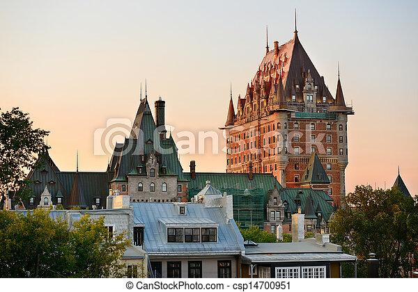 都市, ケベック - csp14700951