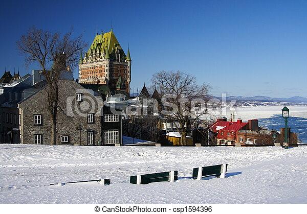都市, ケベック - csp1594396
