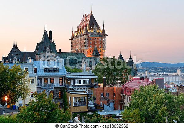都市, ケベック - csp18032362