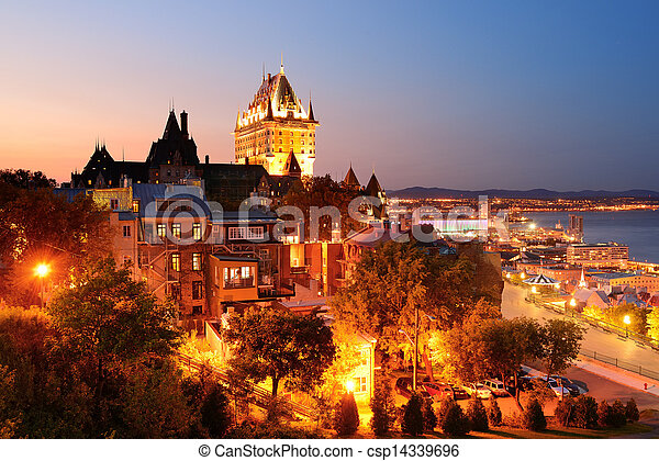 都市, ケベック - csp14339696