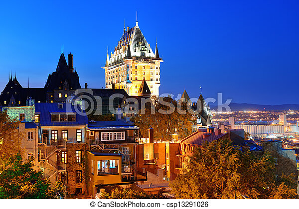 都市, ケベック - csp13291026