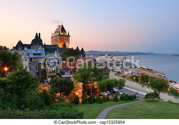 都市, ケベック - csp15325904