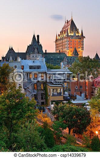 都市, ケベック - csp14339679