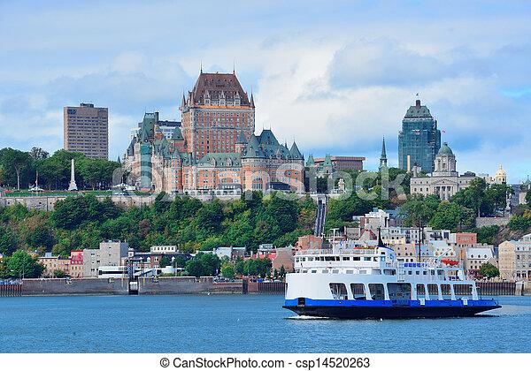 都市 スカイライン, ケベック - csp14520263