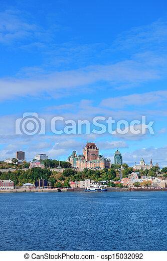 都市 スカイライン, ケベック - csp15032092