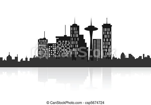 都市 スカイライン, 都市 - csp5674724