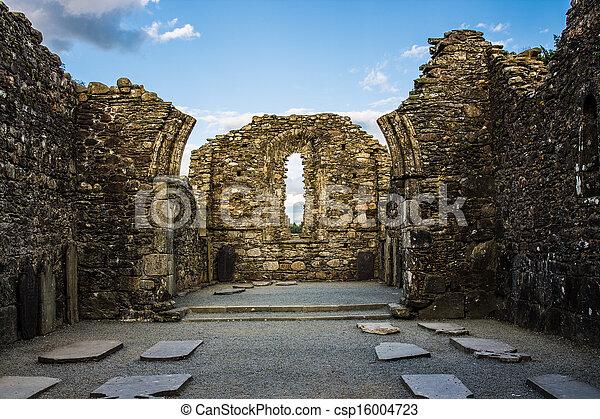 都市, 台なし, monastic, 大聖堂 - csp16004723