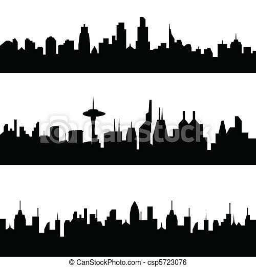 都市, 様々, スカイライン - csp5723076