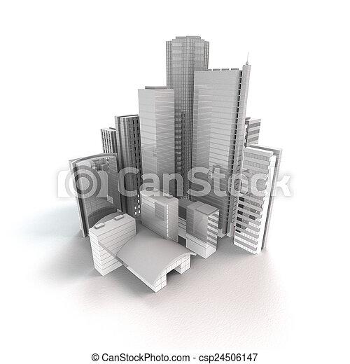 都市, 現代 - csp24506147