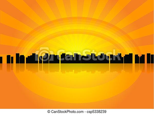 都市 - csp5338239