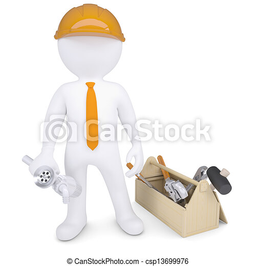 配管工, 道具, サイフォン - csp13699976