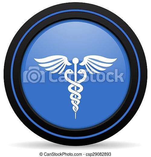 醫院, 圖象, 緊急事件徵候 - csp29082893