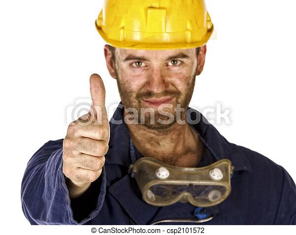 重い, 産業, 信頼, 労働者 - csp2101572