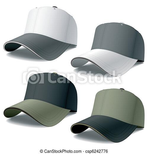 野球帽 Photorealistic ベクトル 野球 イラスト 帽子