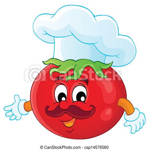野菜, 主題, イメージ, 3 - csp14576560