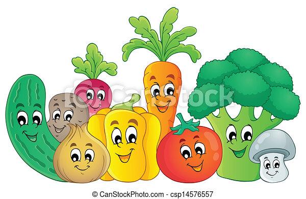 野菜, 主題, 2, イメージ - csp14576557