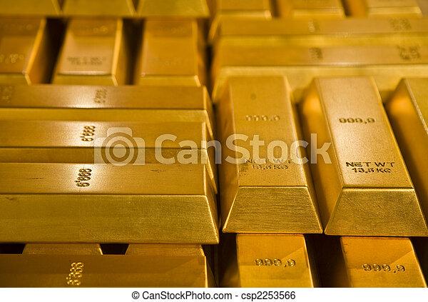 金バー - csp2253566