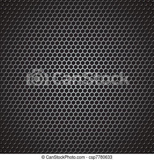 金属, ベクトル, 格子 - csp7780633