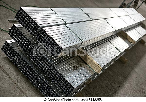 金属, 生産, シート, ホール, プロフィール - csp18448258