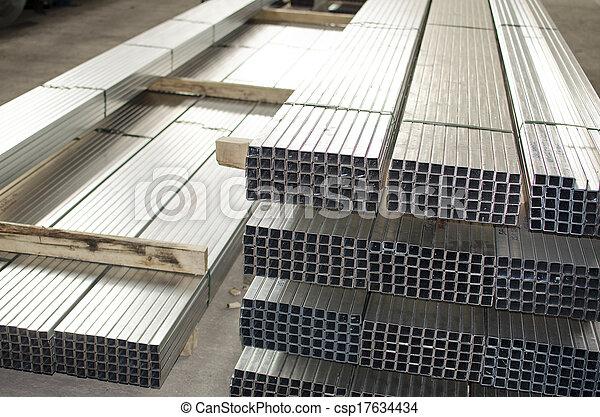 金属, 生産, ホール, シート, プロフィール - csp17634434