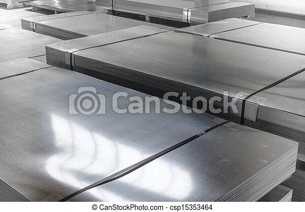 金属, 錫, 生産, シート, ホール - csp15353464