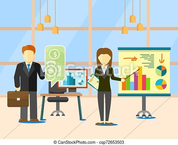 金融, ビジネス戦略, 通貨, ベクトル, 計画 - csp72653503