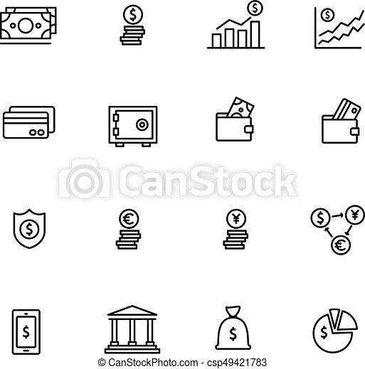 金融, 銀行 - csp49421783