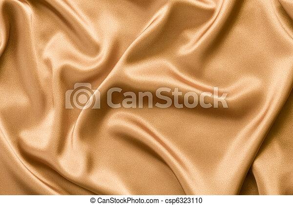 金, 絹, サテン, ∥あるいは∥, 背景 - csp6323110