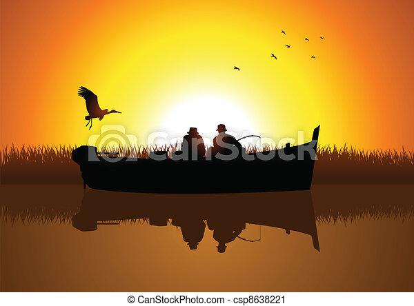 釣り - csp8638221