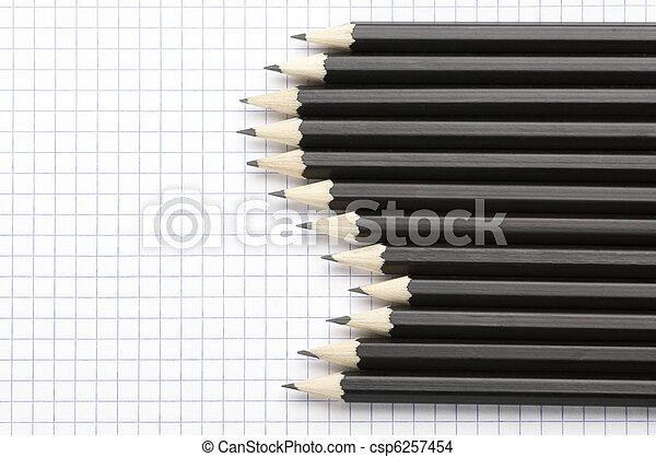 鉛筆, セット - csp6257454